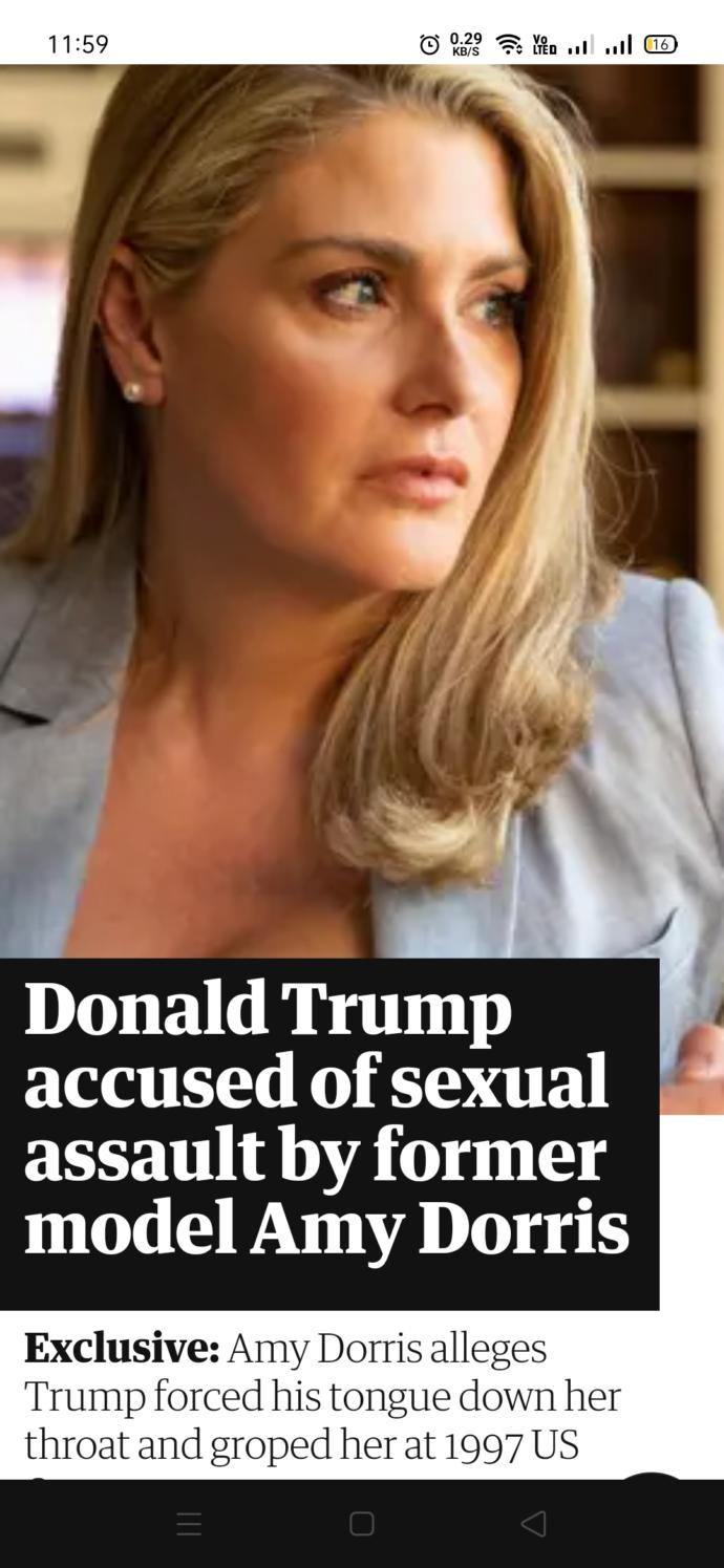 Why the hell do you like a president like Trump who did sexual assaults many times (check description)?