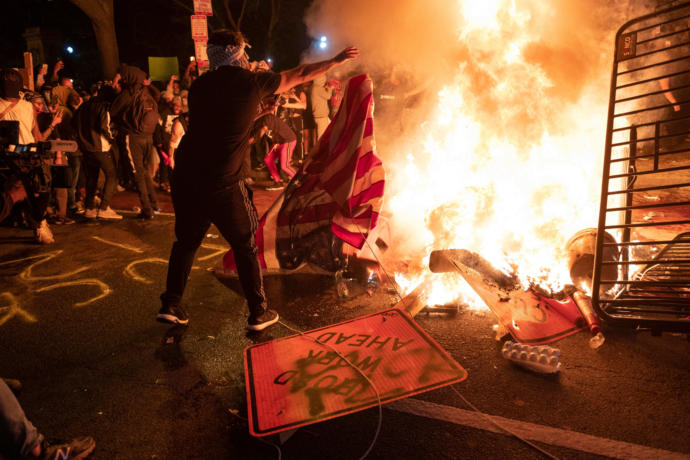 How again is white nationalism considered a major national security threat in America?