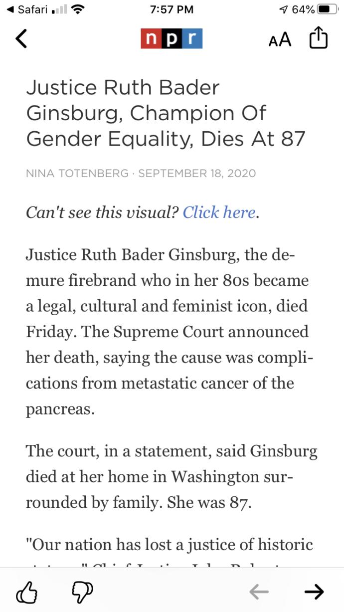 Is the mainstream marxist media going to freak out now that Ruth Bader Ginsburg has died?