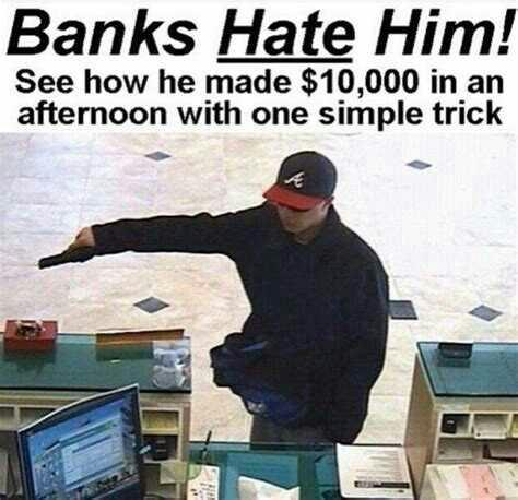 Could you successfully pull off a bank robbery?