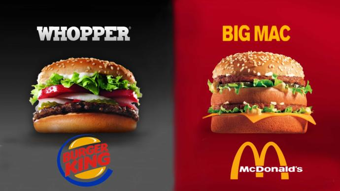 You can only pick one: Big Mac or the Whopper lol...🤪?