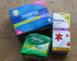 Age switched from pads to tampons?