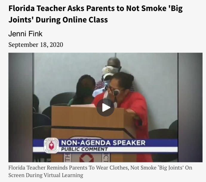 To All The Parents Out There Would You Smoke A Joint In Front Of Your Kids?