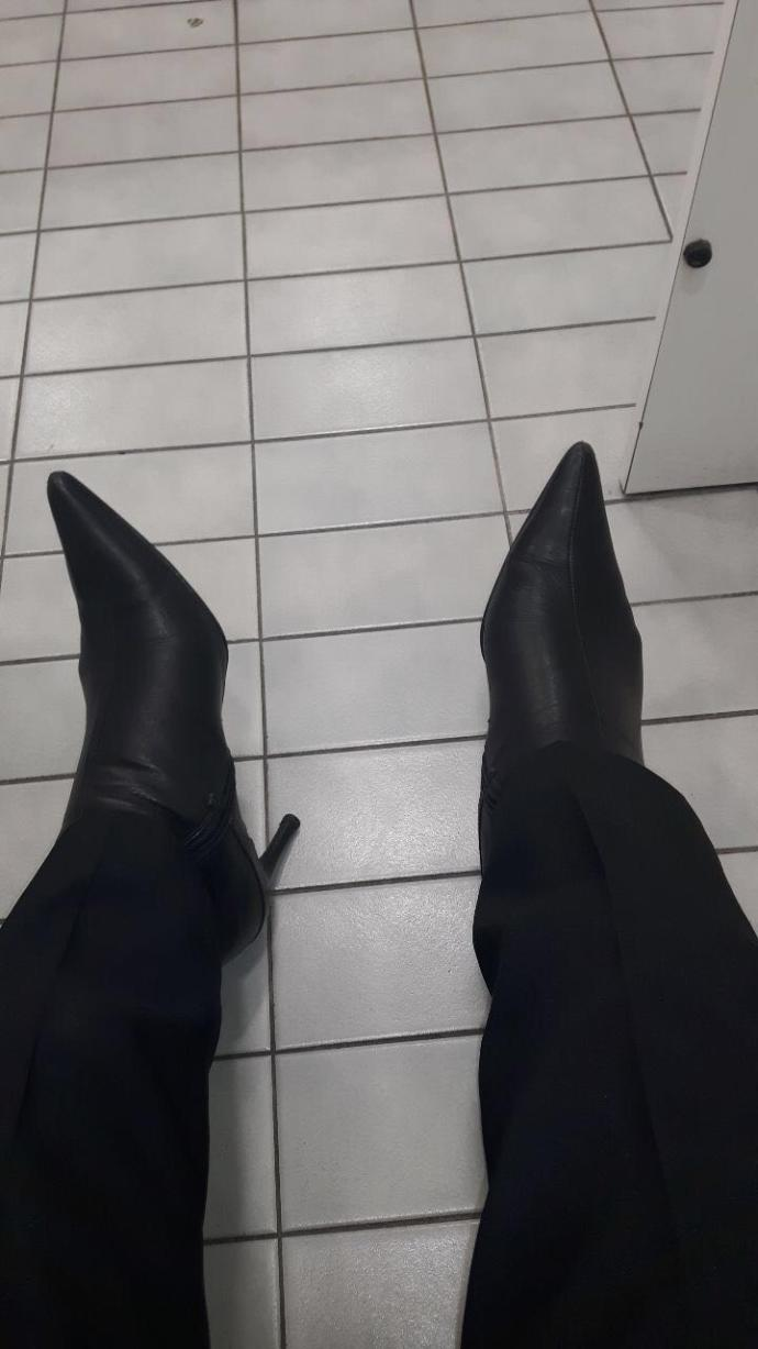 Are Leather High Heel Boots Slutty/Inappropriate?