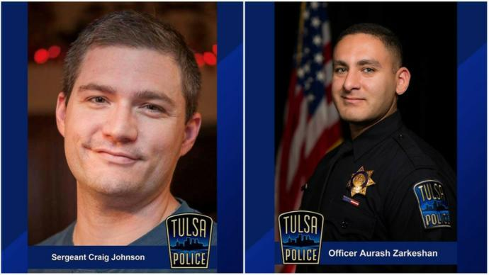 Tulsa police shooting, have you seen it?