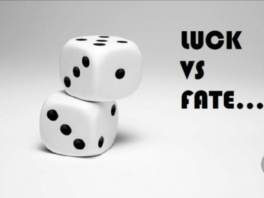 When you find the right partner, do you think its more luck or fate?
