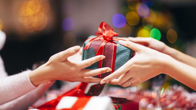 Would you give a gift your partner gave you to someone who needs it?