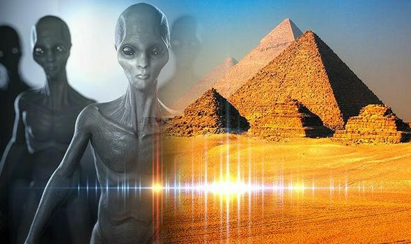 Do you think aliens built/helped build the pyramids?