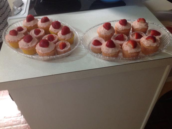 How do my cupcakes look?