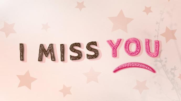 Have you ever really missed someone... I mean really missed them?