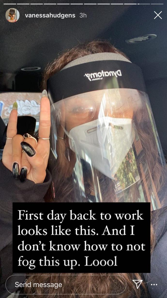 Have you seen others wear this type of face protection mask and face equipment?