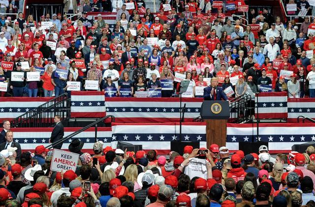 Have you seen how big of crowds Trump is getting at rallies and have you seen how no one goes to Bidens?