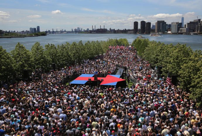 Have you seen how big of crowds Trump is getting at rallies and have you seen how no one goes to Biden's?