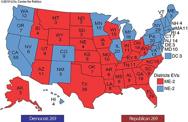 Do you support waiving off certain states electoral votes to save lives?
