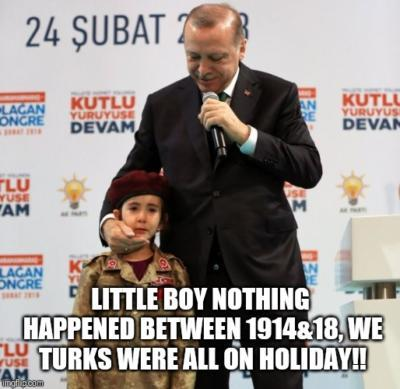 Why do Turks have so much more respect and admiration than anyone else?