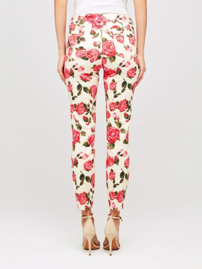 Which pair of patterned jeans look the most interesting?