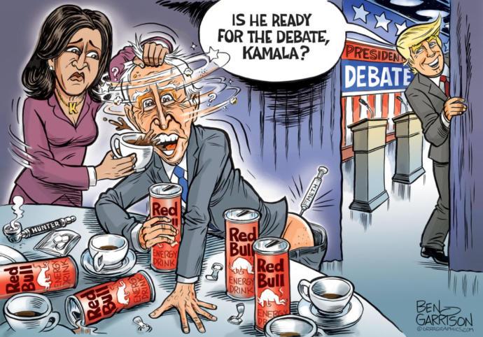 Do you think Trump will beat Biden in next weeks Presidential Debates?