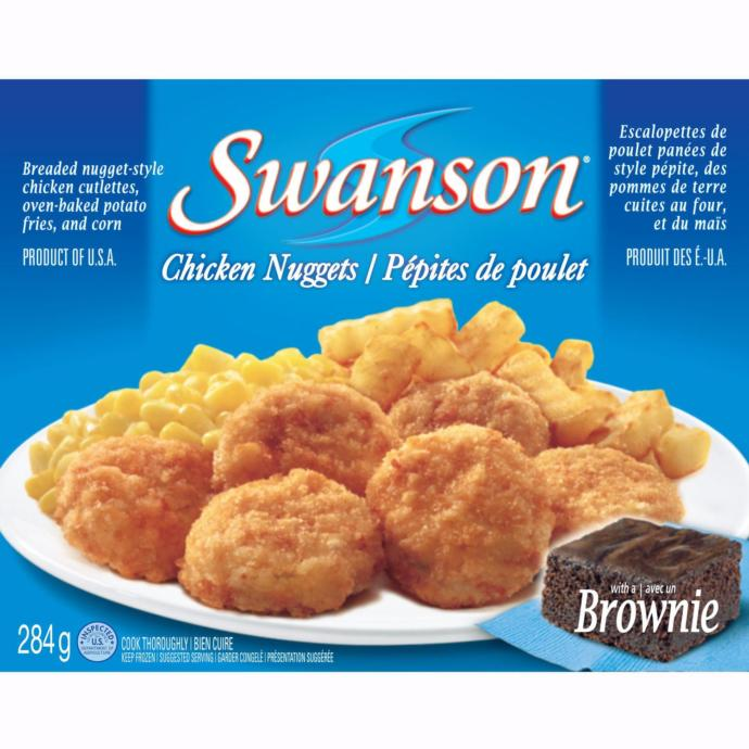 Swanson: Do you know how T.V. or frozen dinners were born? Out of these which are your favorite T.V. dinner? Part 1?