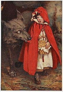 Was Little Red Riding Hood actually afraid of the Big Bad Wolf and would it make for a good Halloween costume for a girl to wear?