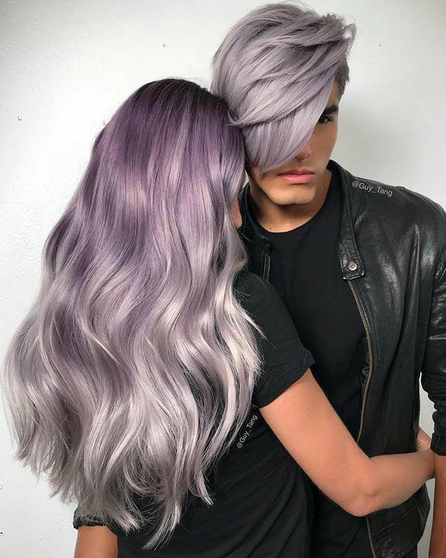 Do you like when Men or Women dye or change their hair color?