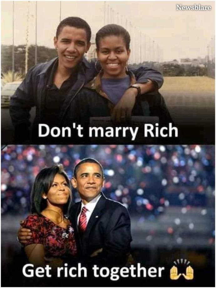 Women! What would you do if you get told to marry rich?