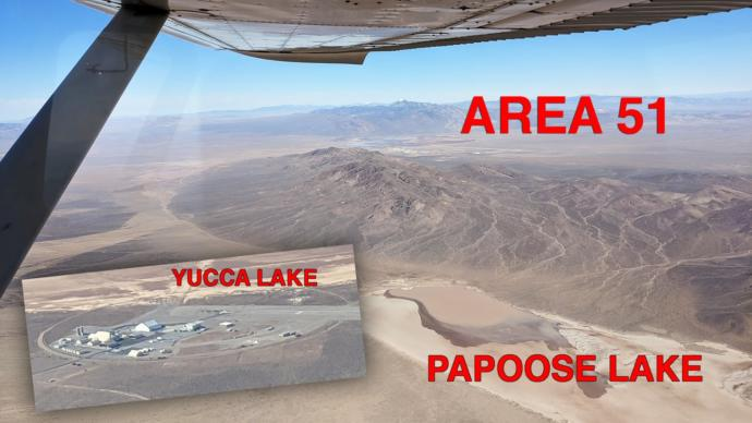 """Secretive Area 6 """"Yucca Lake"""" is 12 miles from Area 51."""