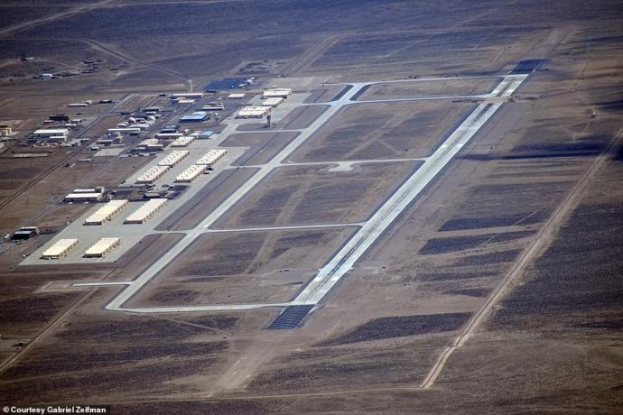 To the left of the runways at Toponah sit hangars that have housed F-117A Nighthawks and stealth drones