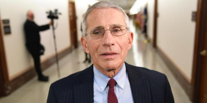 Do you put your faith and trust in Dr. Fauci regarding the dangers and the situation with the COVID-19 pandemic?