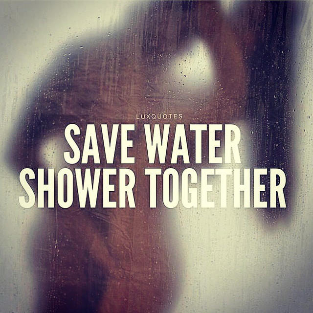 How was your first shower with another person?