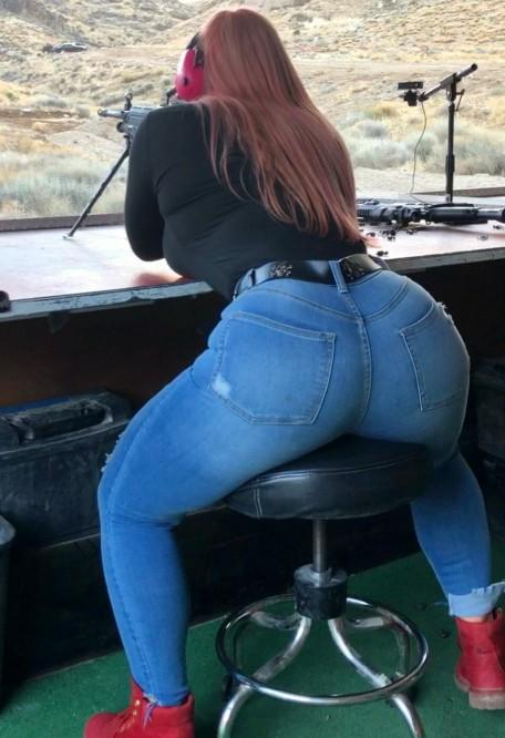 What kind of firing is she doing? How will you react if your the instructor?