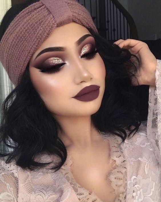 Which makeup look should I get professionally done for a small 20-30 backyard wedding?