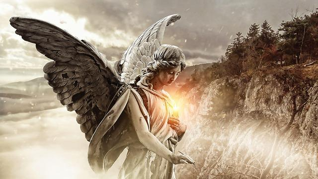 Which certain spiritual things must take place so we can be assured that we are hearing angels at the best spiritual time possible?