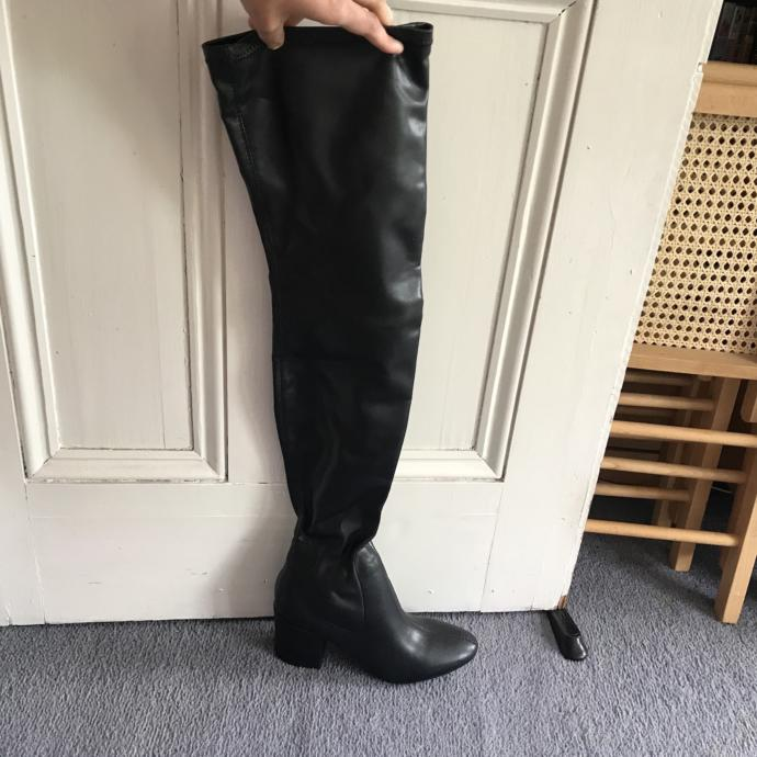 Thigh high boots?