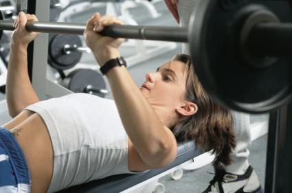 Girls, how much weight can you bench press?