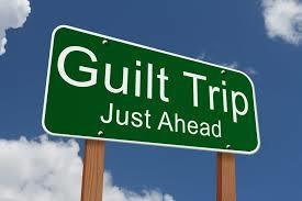 Does guilt tripping against you work?
