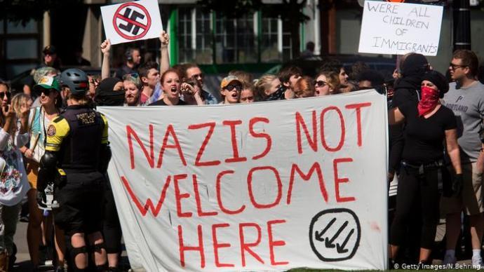 Wouldn't a Fascist Govt Say Anti-Fascists are Enemies?