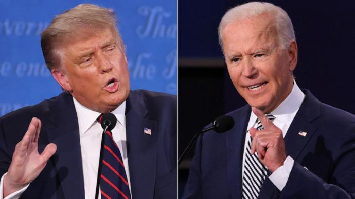 The Presidential candidates of 2020.
