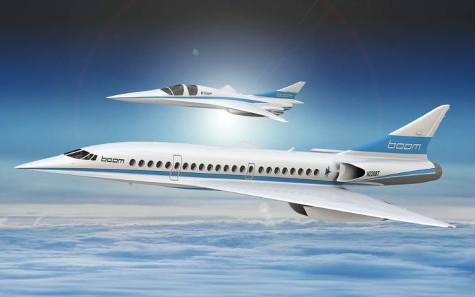 What is your thought on the company Boom Technology trying to bring back and create a new supersonic jet like the retired Concorde by 2026?