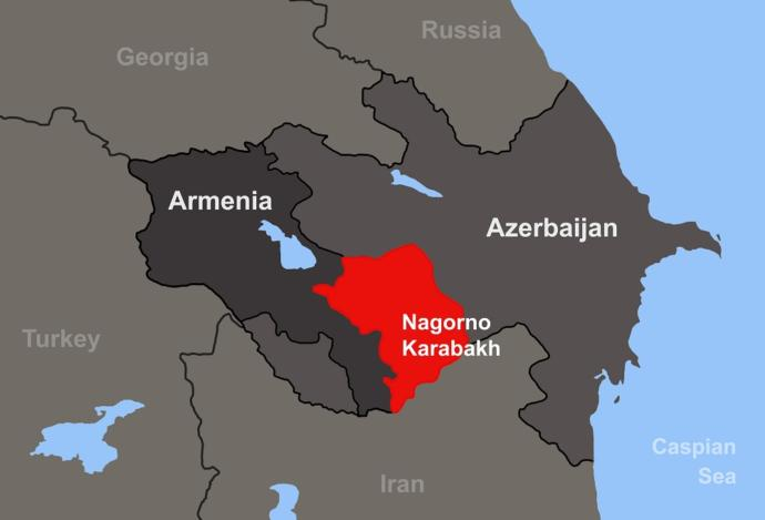 The war is over the disputed Nagorno-Karabakh territory