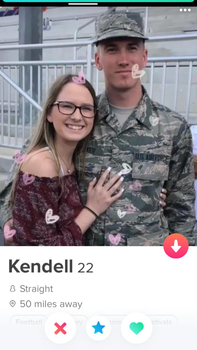 I'm confused, why are guys on dating apps posting themselves next to a beautiful woman?