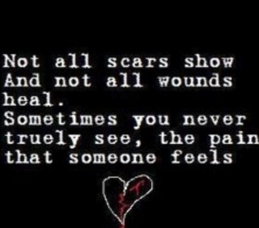 What Scars Do You Carry: Physical, Emotional, None, Or Both?