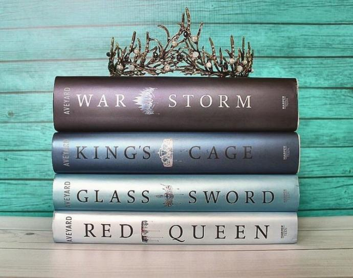 This Post Is Inspired By My Completion Of The Red Queen Series. It Was A Fun Adventure. I Am Sad For It To End📚