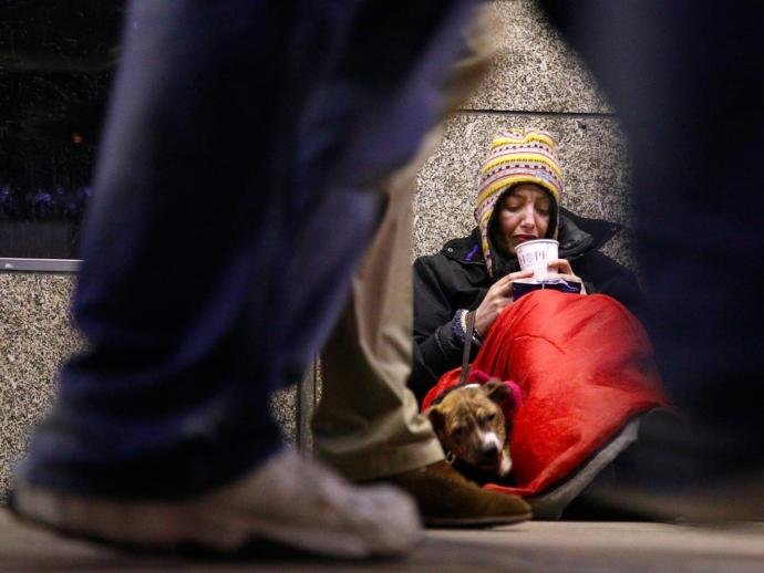 Should homeless people have their pets taken away?