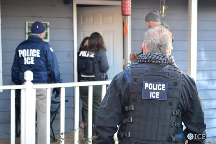 Do you support raids on undocumented immigrants who have not committed a violent crime?