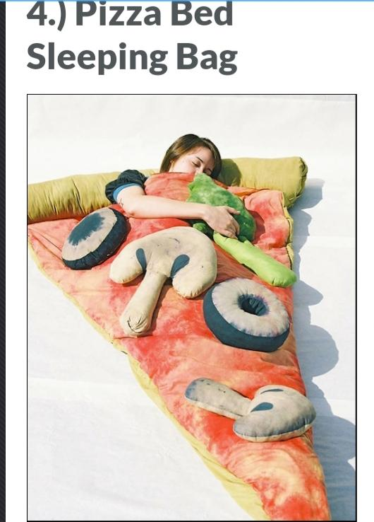Choose which  pizza novelty you think is foolish photos included?