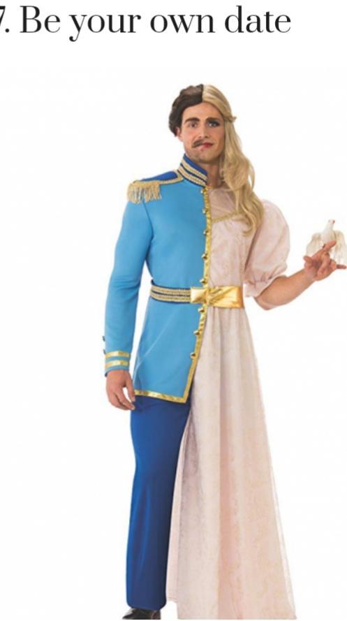 Bizarre Halloween costumes photos included?