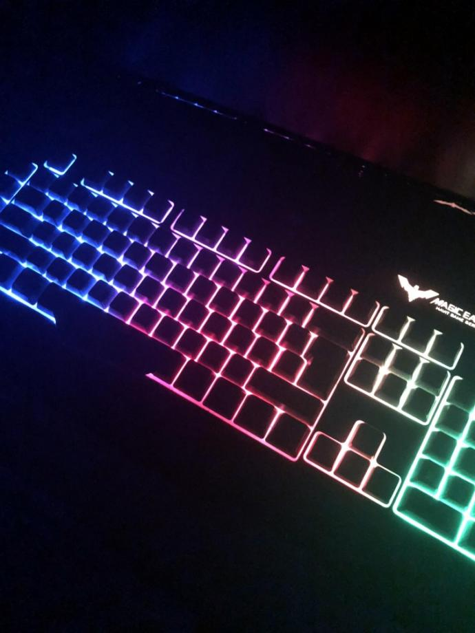 When you walk into a guys room, and you see he has a light up keyboard, how wet do you get?
