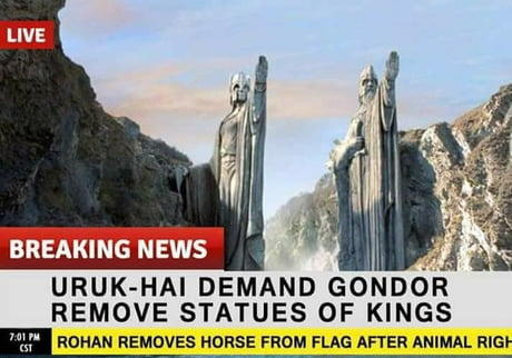 Lord of the Rings!! They are coming to destroy it with SJW politics just like StarWars and Startrek. Thoughts?