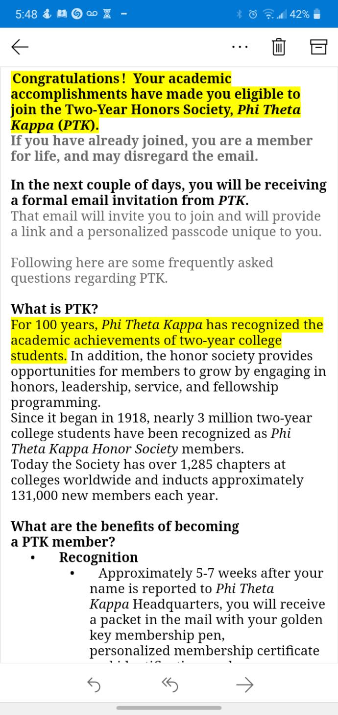 Im joining an honors society, what the heck is this and what does it require?