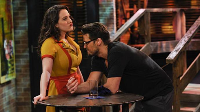 The only reason to watch 2 Broke Girls